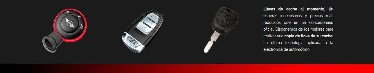 duplicado llaves de coche